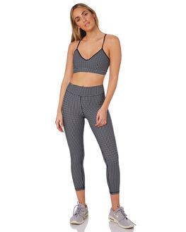NAVY WHITE WOMENS CLOTHING THE UPSIDE ACTIVEWEAR - USW419020NAVWH