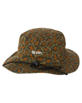 LEOPARD CAMO MENS ACCESSORIES BRIXTON HEADWEAR - 10579LPRCA