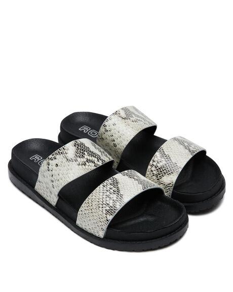 NATURAL SNAKE WOMENS FOOTWEAR ROC BOOTS SLIDES - TAROTNATS