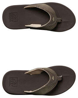 BROWN KIDS BOYS REEF THONGS - 5086BRO