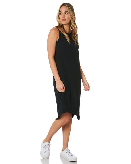 BLACK WOMENS CLOTHING SILENT THEORY DRESSES - 6041017BLK