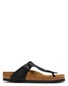 BLACK WOMENS FOOTWEAR BIRKENSTOCK FASHION SANDALS - 043691WBLK