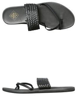 BLACK WOMENS FOOTWEAR FREEWATERS FASHION SANDALS - WO044BLK
