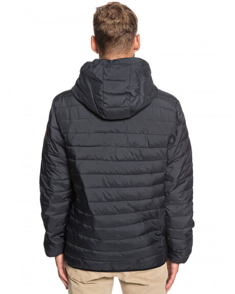 BLACK MENS CLOTHING QUIKSILVER JACKETS - EQYJK03426-KVA0