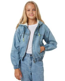 DENIM KIDS GIRLS EVES SISTER JUMPERS + JACKETS - 9550011DEN