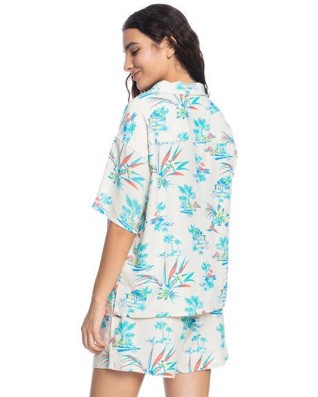 SNOW WHITE LIPSTICK WOMENS CLOTHING QUIKSILVER FASHION TOPS - EQWWT03065-WBK6