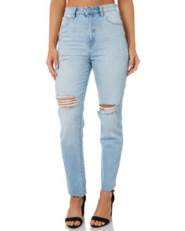 BOOM BOOM WOMENS CLOTHING A.BRAND JEANS - 71309-4027