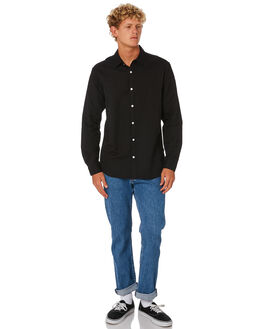 BLACK MENS CLOTHING SWELL SHIRTS - S5201170BLACK