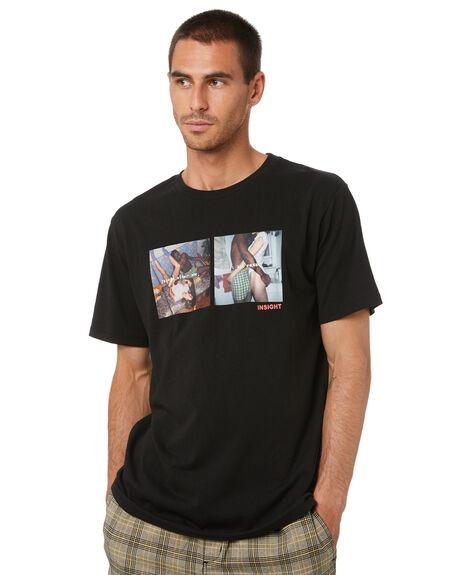 BLACK MENS CLOTHING INSIGHT TEES - 5000005049BLK