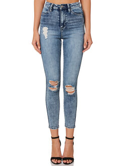 ORION BLUE WOMENS CLOTHING RIDERS BY LEE JEANS - R-551552-KD8