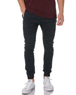 MILLED BLACK MENS CLOTHING ZANEROBE PANTS - 700-PREIMILBK