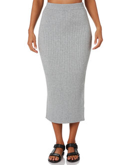 GREY MARLE WOMENS CLOTHING NUDE LUCY SKIRTS - NU23612GRY