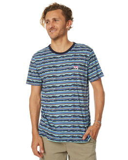 BLUE MENS CLOTHING BILLABONG TEES - 9571035BLU