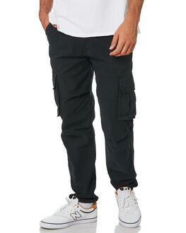 BLACK MENS CLOTHING NENA AND PASADENA PANTS - NPMAPC001BLCK