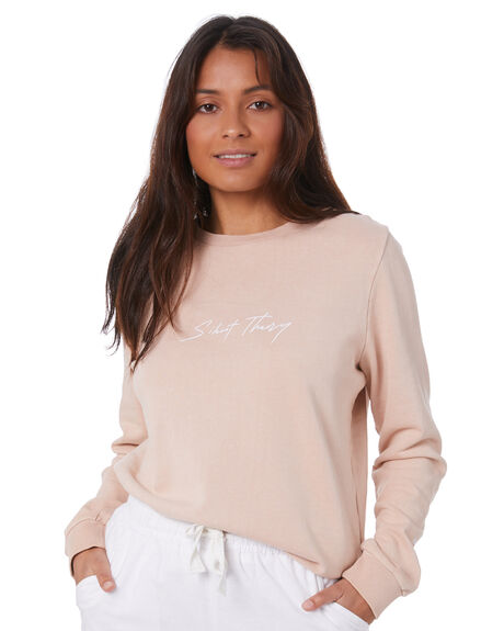 PINK WOMENS CLOTHING SILENT THEORY JUMPERS - 6053022_PNK