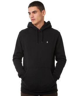 BLACK MENS CLOTHING VOLCOM JUMPERS - A4131700BLK