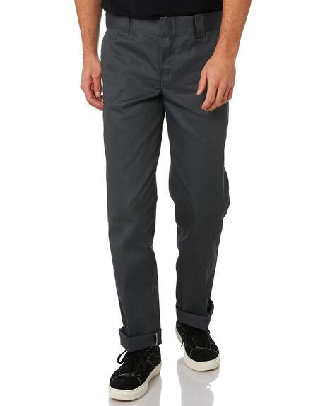 CHARCOAL MENS CLOTHING DICKIES PANTS - WP873CH
