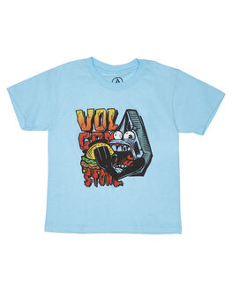 SKY BLUE KIDS TODDLER BOYS VOLCOM TEES - Y57118D0SBL