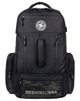 BLACK MENS ACCESSORIES DC SHOES BAGS + BACKPACKS - EDYBP03234-KVJ0