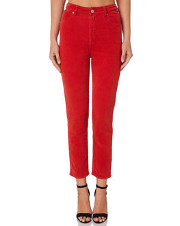 CHERRY WOMENS CLOTHING A.BRAND JEANS - 71380-2873