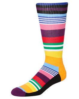 MULTI MENS CLOTHING HAPPY SOCKS SOCKS + UNDERWEAR - ATMST27-6000MULTI
