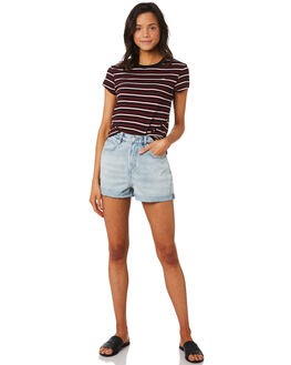 UNION CITY WOMENS CLOTHING LEE SHORTS - L-656614-KE7