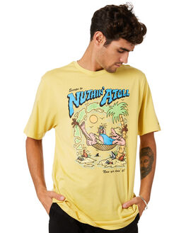 STRAW MENS CLOTHING VOLCOM TEES - A5001975STW