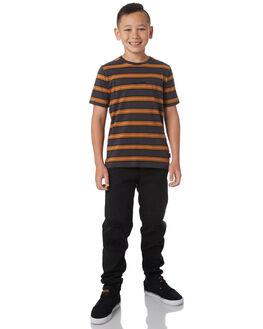 CHARCOAL KIDS BOYS GLOBE TEES - GB41811001CHAR