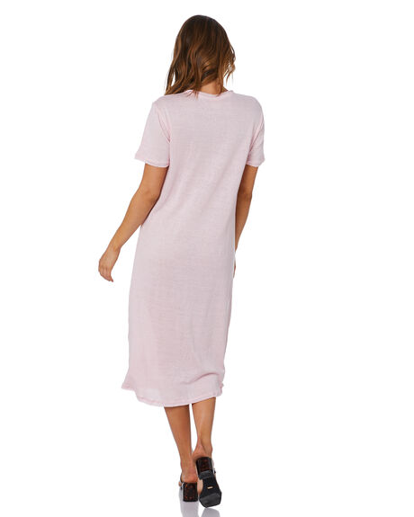POWDER PINK WOMENS CLOTHING ZULU AND ZEPHYR DRESSES - ZZ3300PPNK