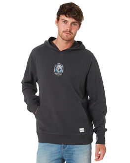 ANTHRACITE MENS CLOTHING HURLEY JUMPERS - AJWF0003060
