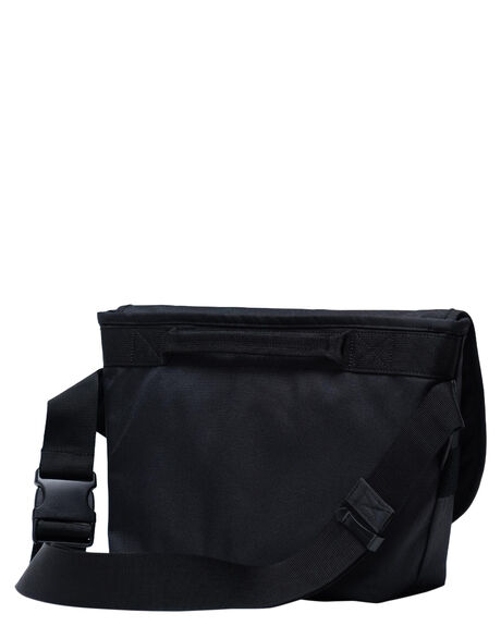 BLACK MENS ACCESSORIES HERSCHEL SUPPLY CO BAGS + BACKPACKS - 10687-00001-OSBLK