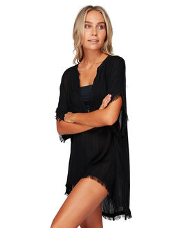 BLACK PEBBLE WOMENS SWIMWEAR BILLABONG OVERSWIM - BB-6592155-6BP