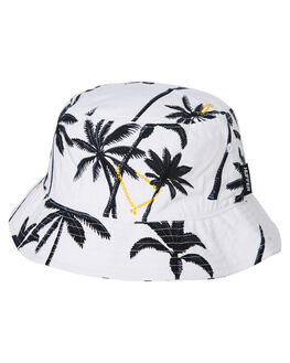 WHITE WOMENS ACCESSORIES HUFFER HEADWEAR - A94S46104WHT