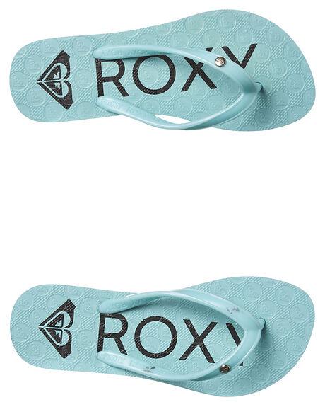 e4a6a568632c Roxy Kids Girls Viva Iii Thong - Teal