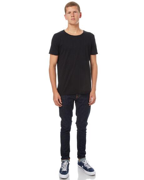 BLACK MENS CLOTHING NUDIE JEANS CO TEES - 131484B01