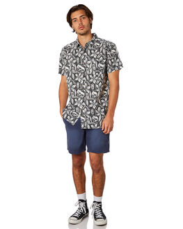 WHITE MENS CLOTHING THE CRITICAL SLIDE SOCIETY SHIRTS - SS1808WHT