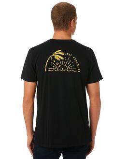 BLACK MENS CLOTHING SWELL TEES - S52011012BLACK