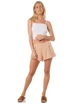 WHITE WOMENS CLOTHING ALL ABOUT EVE SINGLETS - 6403090WHT