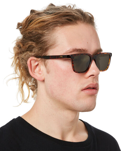 POLISHED TORT MENS ACCESSORIES LOCAL SUPPLY SUNGLASSES - BANKTLP2