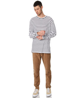 MALA STRIPE MENS CLOTHING ASSEMBLY TEES - AM-W21708MSTRP