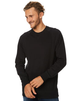 BLACK MENS CLOTHING AS COLOUR JUMPERS - 5106BLK