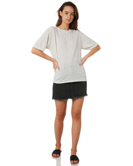 WHITE WOMENS CLOTHING SWELL TEES - S8184006WHITE