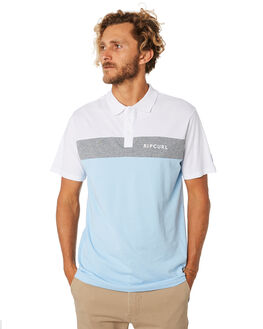 WHITE GREY MENS CLOTHING RIP CURL SHIRTS - CPLCQ13329
