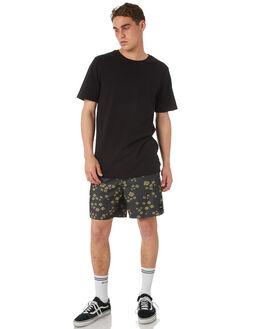 BLACK MENS CLOTHING RVCA BOARDSHORTS - R182400BLK