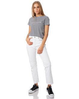 NAVY STRIPE WOMENS CLOTHING ELWOOD TEES - W93101-JF6