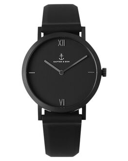 BLACK MENS ACCESSORIES KAPTEN AND SON WATCHES - KS-AE07B0000E11AABLK