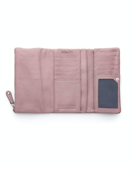 DUSTY ROSE WOMENS ACCESSORIES STITCH AND HIDE PURSES + WALLETS - WW_PAIGET_DUSTY_RO