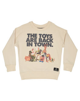 OATMEAL KIDS BOYS ROCK YOUR KID JUMPERS + JACKETS - TBH1921-TTOAT