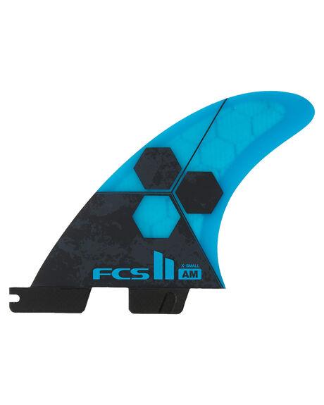 WHITE BOARDSPORTS SURF FCS FINS - FAMX-PC04-TS-RWHT