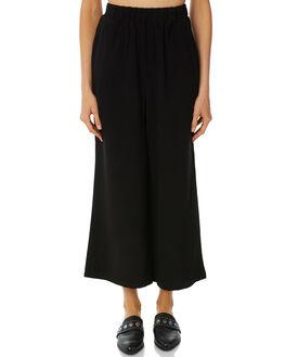 BLACK WOMENS CLOTHING DR DENIM PANTS - 1630101101